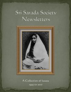image of Sri Sarada Society Newsletter Collection cover